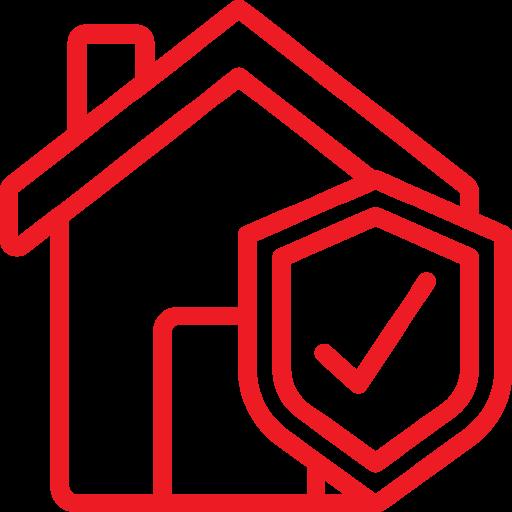 seguro de arrendamiento icono